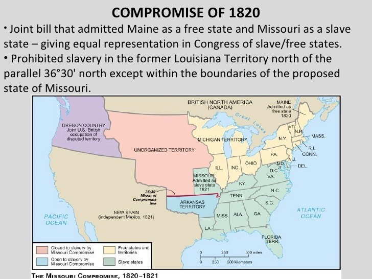 bkushistory [licensed for non-commercial use only] / Missouri Compromise