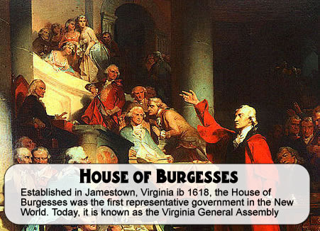 Bkushistory Licensed For Non Commercial Use Only House Of Burgesses