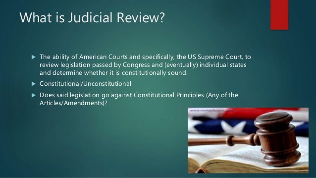 Judicial Review Lessons Tes Teach