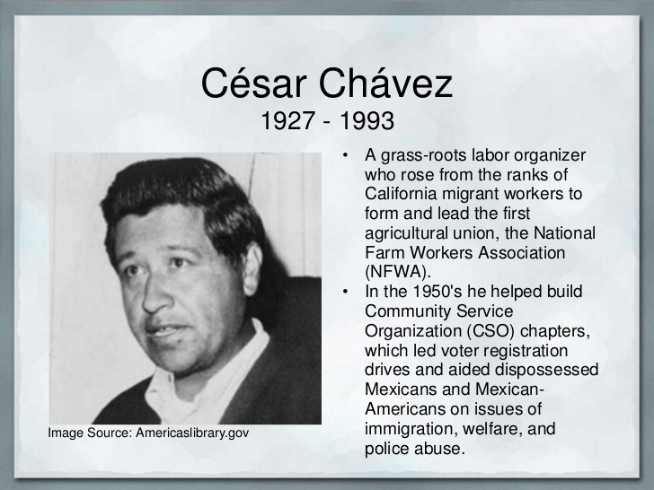 bkushistory [licensed for non-commercial use only] / Cesar Chavez