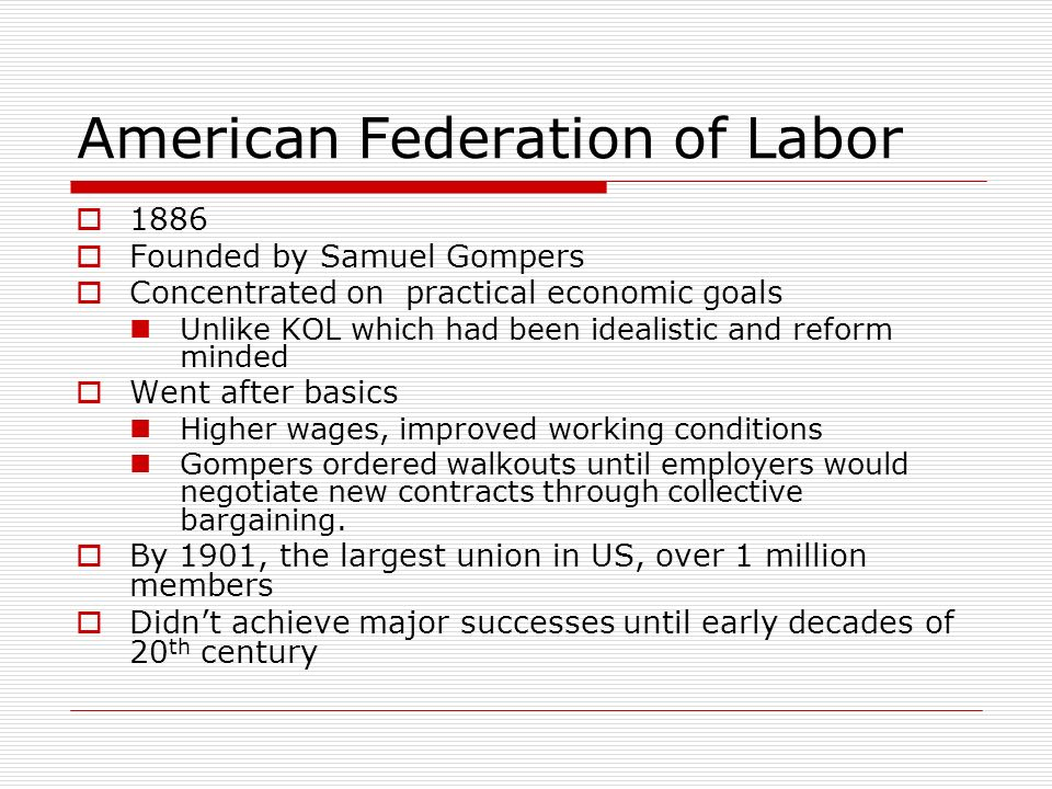 american federation of labor American federation of labor lesson plans and worksheets from thousands of teacher-reviewed resources to help you inspire students learning.