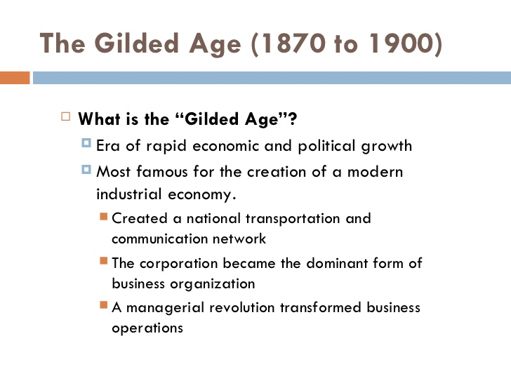 an introduction to the history of america in gilded age Material to assist with research introduction history repeats itself or does it  your job is to investigate an aspect of the gilded age in america (1876-1900)  and.